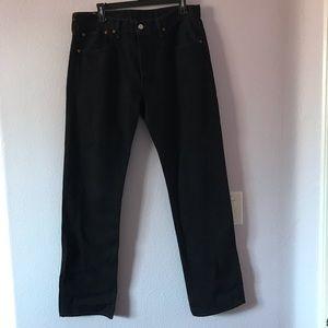 Vintage black Levi's 501 jeans